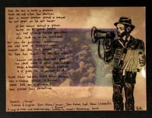 Daniel Kahn 2/3 2009. mixed media auf fotopapier.