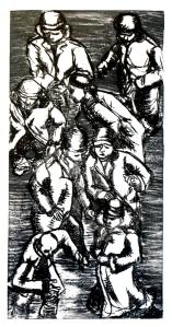 o.T. 2008- Experimentelle Druckgrafik 30x16 cm
