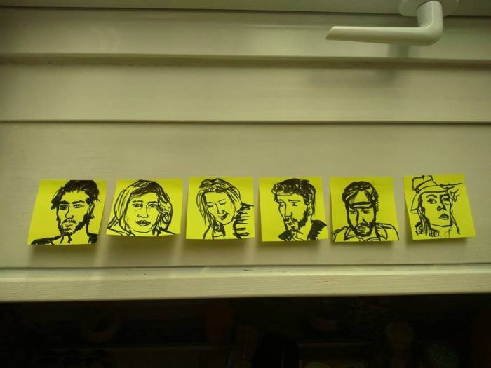 post it note people